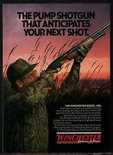 1991 WINCHESTER Model 1300 Shotgun AD Vintage Duck Hunting Advertising