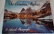 VINTAGE COLLECTIBLE CANADIAN ROCKIES PHOTO BOOK