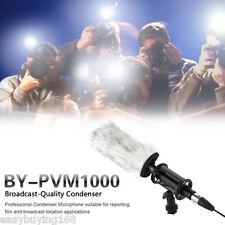 Boya profesional Micrófono de condensador PR Fotografía canon Nikon Sony Cámara