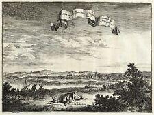 REHME (BAD OEYNEHAUSEN) - GESAMTANSICHT - de Hooghe - Kupferstich 1672