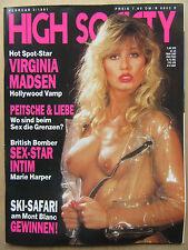 High Society ( D ) 2/1991, Virginia Madson, Marie Harper, Kirsten Imrie,