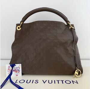 Louis Vuitton Empreinte Artsy MM in Brown Hobo Shoulder Handbag