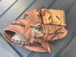 Nokona TN-1150 Youth L/H Leather Pro Elite Series Baseball Glove Mitt R/H Throw