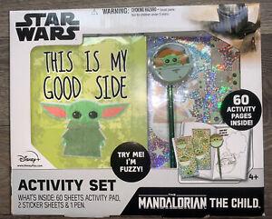 NEW Disney Star Wars The Mandalorian The Child Activity Set STOCKING STUFFER