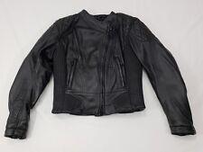 Harley-Davidson FXRG Leather Riding Jacket Womens Size Medium Padded, Heavy