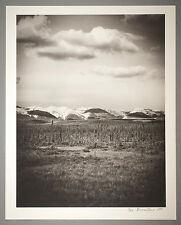 BONNIERE,16X20 SILVER GELATIN PHOTOGRAPH,S/N, DEMPSTER HIGHWAY, N.W.T.  CANADA