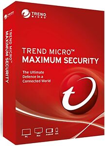 Trend Micro Antivirus Maximum Internet Security 2021 3Multi Device support 1Year