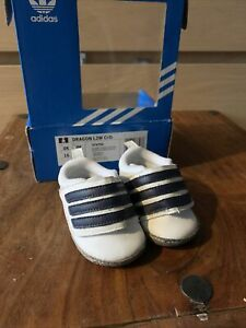 Baby Boys Adidas Crib Trainers 0-3 Months