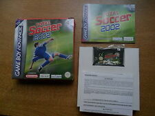 Total Soccer 2002 - GBA - Game Boy Advance - PAL ESPAÑA