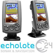 Lowrance HOOK 4 CHIRP mit 83/200 455/800 kHz Geber Echolot GPS Kartenplotter