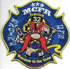 """Montgomery County  Engine - 32 """"Travilah"""", MD (4"""" x 4"""" size) fire patch"""