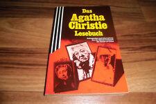 Agatha Christie LESEBUCH -- Miss Marple+Hercule Poirot+viele Infos in 1. Auflage