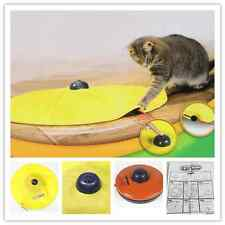 Cat Meow Toy Undercover Mouse Wand Electronic Interactive Kitten Pet Play Toys