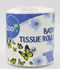 Rv Boat Loo Premium Toilet Paper Rapid Dissolving 96 Rolls Fsc 3-Ply Tissue