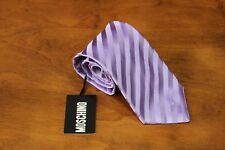 MOSCHINO Men's 100% Silk Purple Striped Tie Free Shipping New w Tag Italy made