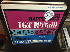 The HAPPENINGS / The TOKENS Back to Back vinyl LP VG+ B.T. Puppy 1967 in shrink