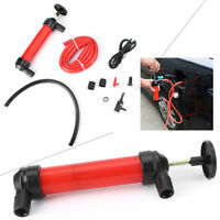 Portable Manual Oil Pump Inflatable Tube Hose Fuel Gas Extractor Transfer Sucker