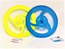 """HARD PLASTIC DISC FRISBEE DOG TOY 10"""" PLAY FETCH EXERCISE SUPETCO"""