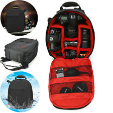 Waterproof Large Camera Backpack Bag For Canon Nikon Sony DSLR Laptop Rucksack