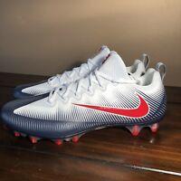 New Sz 15 Nike Vapor Untouchable Pro Football Cleats Red White Blue 925423-419