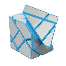 1PCS  Blue-Silver Ghost Cube 3x3 Puzzle Cube Magic Cube 60*60MM