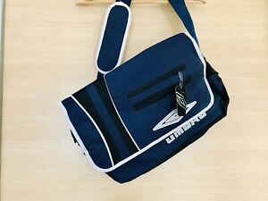 Vintage Large 90'S UMBRO SPORTS GYM/TRAINING BAG (BLUE/WHITE)