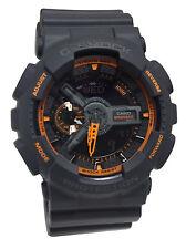 Casio GA110TS-1A4 G-Shock Orange Dark Grey  Men Watch NEW