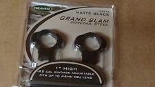 "Weaver Grand Slam 1"" 22 (rimfire) Rings High Matte"
