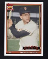 2016 Topps Archives #210 Orlando Cepeda - NM-MT
