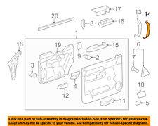 GM OEM Front Door-Handle Cover Right 25932425