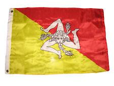 2x3 Sicily Sicilian Premium Quality Flag 2'x3' House Banner Grommets