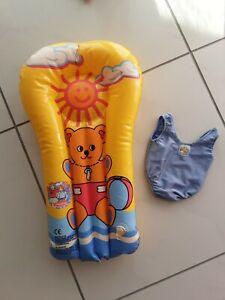 Toller Baby Born  Badeanzug  mit Luftmatratze Top
