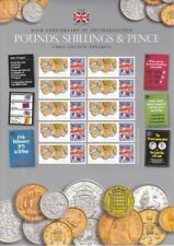 GB 2014 - 40th Anniversary of Decimal Currency Smilers Sheet - Ref: BC-428