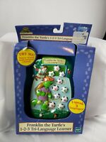 Vintage Franklin The Turtle Electronic Tri-Language Learner Handheld Game Tiger