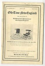 1937 OLD-TIME NEW ENGLAND 89, Newport Houses, early baby buggies, Mumford House