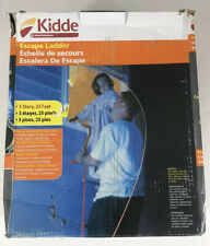 Kidde Emergency Escape Ladder 25 ft 3-Story New Open Box Kl-3S
