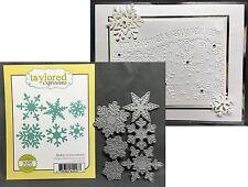 Make a Snowflake metal die set TE118 Taylored Expressions Cutting Dies christmas