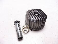 1989 Yamaha FZR600 YM216B. Engine oil filter cover spring bolt