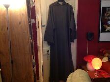 Fancy Dress - Grey Hooded Wizard, Gandaplh Tunic Cloak...Size XXXL