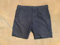 """Mens Marks & Spencer Blue Harbour Chino Shorts Size 36"""" Waist, 9"""" Inseam"""