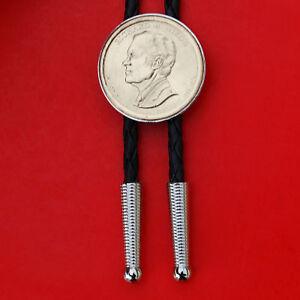 US 2016 Presidential Dollar BU Unc Coin Bolo Tie - Richard Nixon