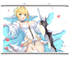 Fate/EXTRA Nero Claudius Wall Scroll Poster free shipping (34.5 X23.6 IN )