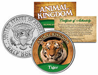 TIGER * Animal Kingdom Series * JFK Kennedy Half Dollar U.S. Coin