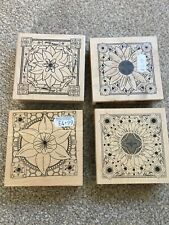 Papermania Stamps X4 Flowers