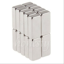 10pcs Super Strong Block Square Rare Earth Neodymium Magnets 10 X 5 X 3mm