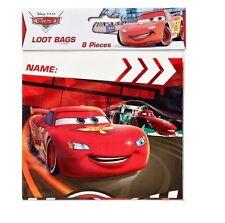 Disney Pixar Cars Birthday Party Supplies Favor Loot Goody Treat Bags 8 ct