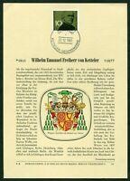 Seltenes Privat Ersttagsblatt ETB Verlag Erich Braun Nr. 36 Michel Nr. 374