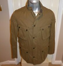 BNWT BARBOUR INTERNATIONAL LOCKSEAM CASUAL JACKET , UK Size LARGE ,  DARK SAND