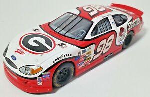 GEORGIA BULLDOGS 1/24 #98 NASCAR DIECAST REPLICA RACED AT ATLANTA 2001