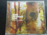 BENNY  ANDERSSON   BAND    -   STORY  OF  A  HEART  ,   CD  2009,   FOLK   POP